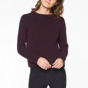 ATHLETA Rockland Sweater Ribbed Knit Pullover S
